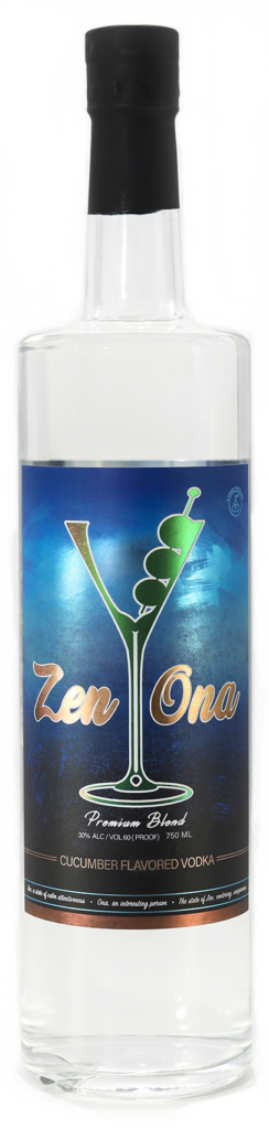 Zenona Premium Blend Cucumber Flavored Vodka